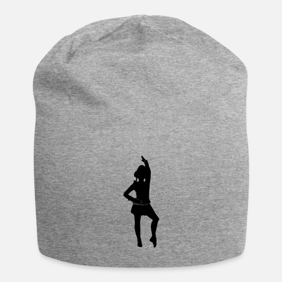 Carneval Caps & Hats - Carnival guard dancing Mardi Gras - Beanie heather grey
