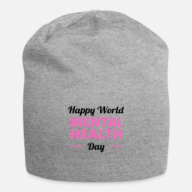 Happy World Mental Health Day Cunselor-therapeut - Beanie