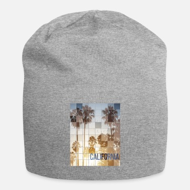 Skateboard Californa Sunset Cube Vintage - Beanie