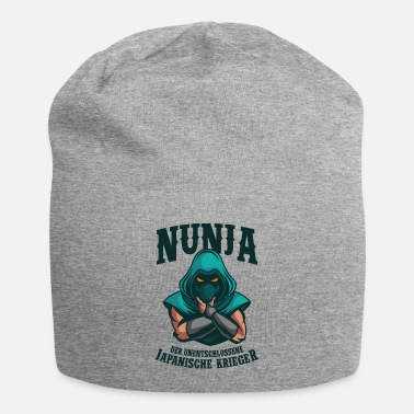 Surprise Nunja Ninja Wordplay Karate Wordplay Joke Saying - Beanie