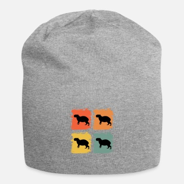 Ren Capybara Wildlife Animal Retro Pop Art Gaveidee - Beanie