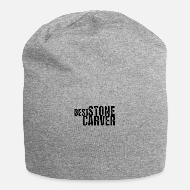 Stone Stone sculptor stonecutter carving stone stone stone - Beanie