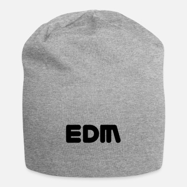 Electronic Dance Musik EDM - Electronic Dance Music Vektor - Beanie