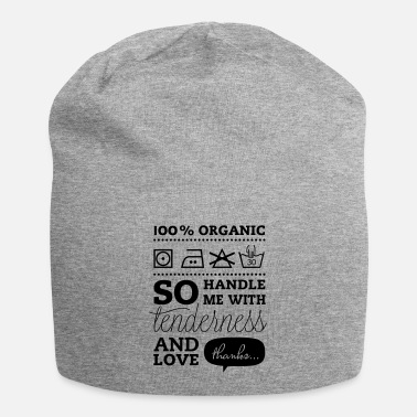 Tlc Typographic Laundry Tag TLC - Beanie-pipo