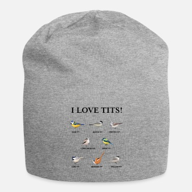 Watching Funny Birdwatching & Tit bird fan Gift - Beanie