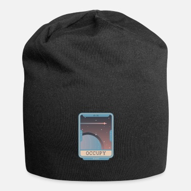 Occupy Occupy Mars - Planet Illustration - Beanie
