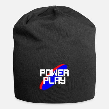 Powerplay-White - Beanie
