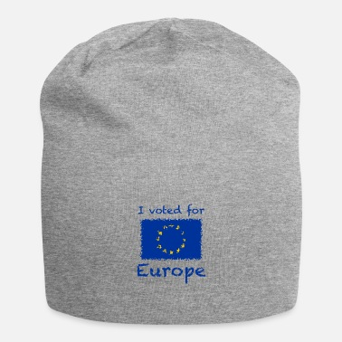 I voted for Europe - Beanie