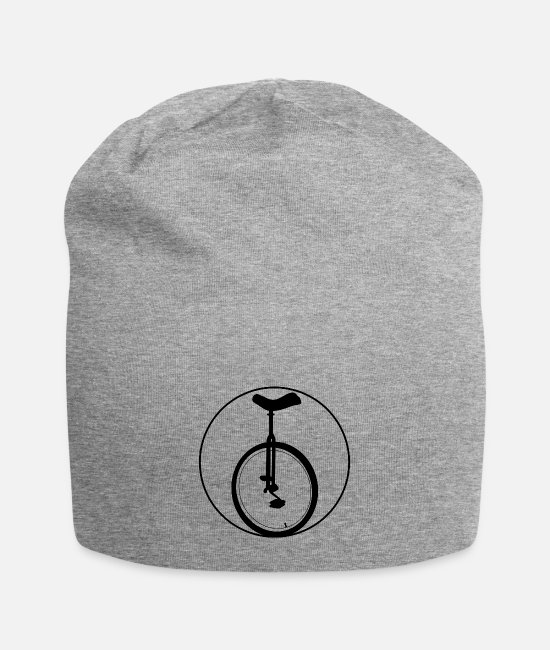 Wheel Caps & Hats - unicycle - Beanie heather grey