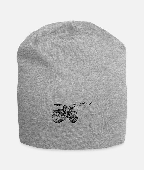 Ranch Caps & Hats - Tractor - Beanie heather grey