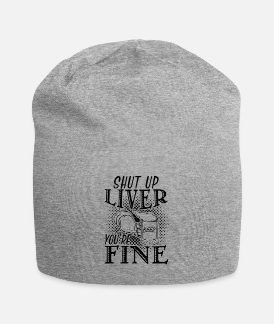 Celebrate Caps & Hats - Drink - Beanie heather grey