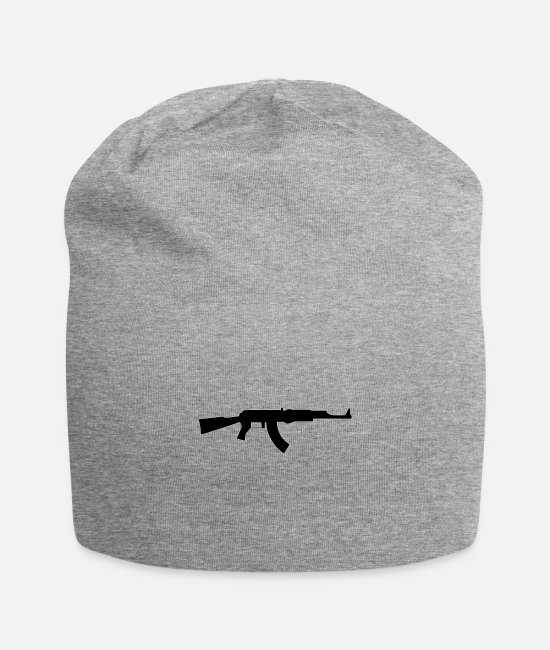 Gun Caps & Hats - kalashnikov - Beanie heather grey