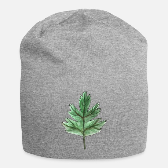 Garden Caps & Hats - Leaf of an oak - Beanie heather grey