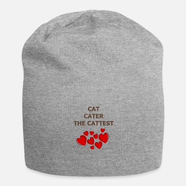 cat hearth cater the cattest - Beanie