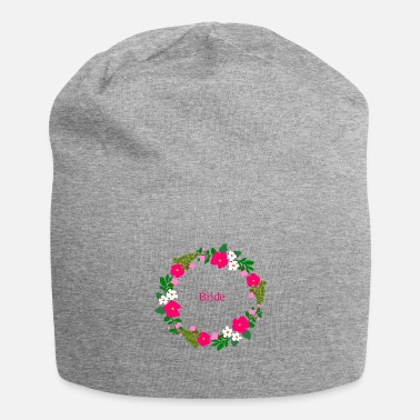 Flower wreath bride - Beanie