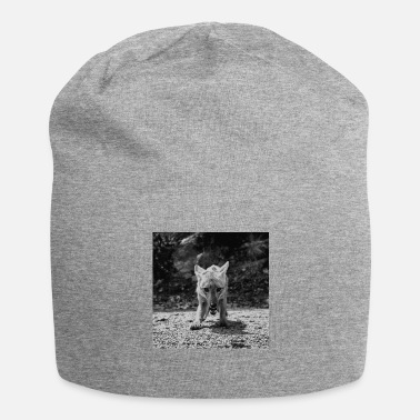 Fox Black White - Beanie