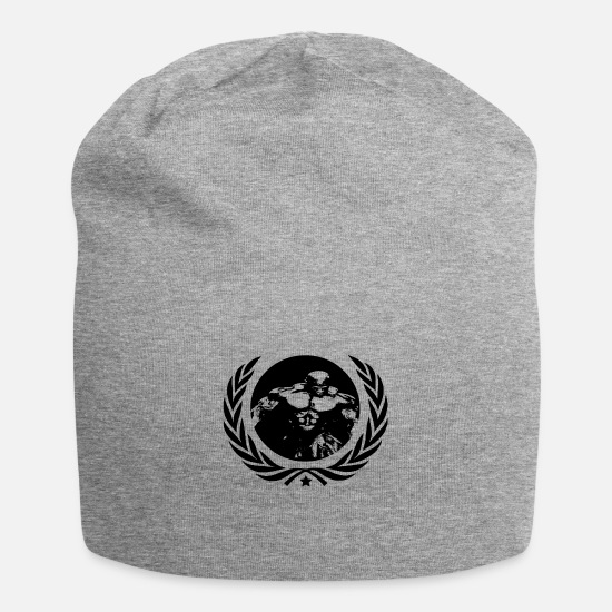 No Caps & Hats - musculation - Beanie heather grey