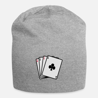 Cards poker cards - Beanie