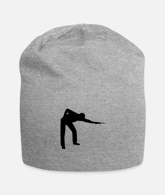 Graphic Art Caps & Hats - SNOOKER - PLAYER Icon - Beanie heather grey