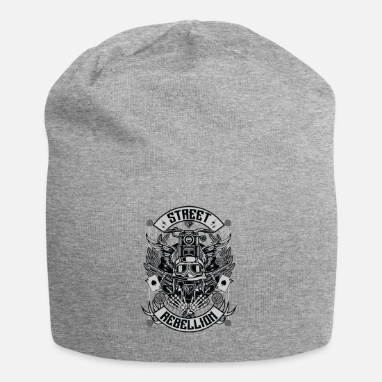 Established Caps & Hats - Street Rebellion - Beanie heather grey
