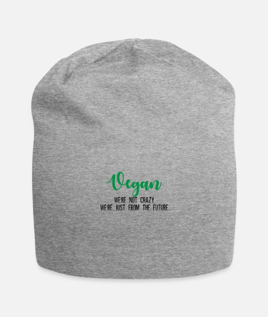 Nature Caps & Hats - DieAnimal Lover, The Planet, Nature, Humour Earth - Beanie heather grey