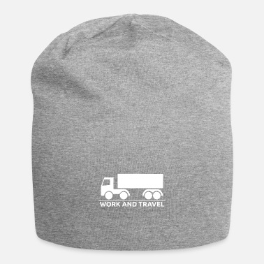 Travel Truck Driver Gift Truck Work and Travel Truck Travel - Beanie