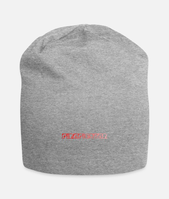 Fighter Caps & Hats - Firefighter / Firefighter - Beanie heather grey