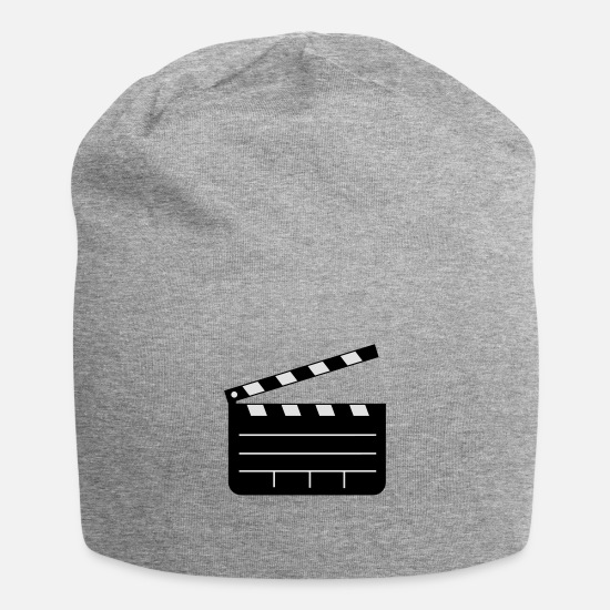 Clapperboard Caps & Hats - Clapperboard - Beanie heather grey