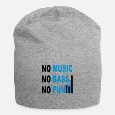 Dubstep no music no bass no fun - Beanie