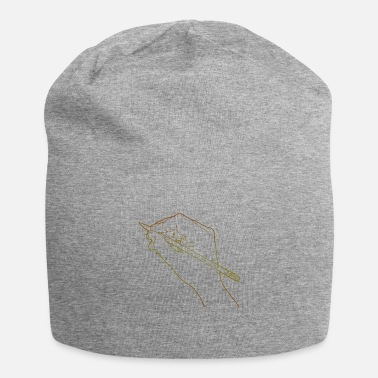 Drawing Draw Drawing Human Hand Drawing Line Drawing - Beanie