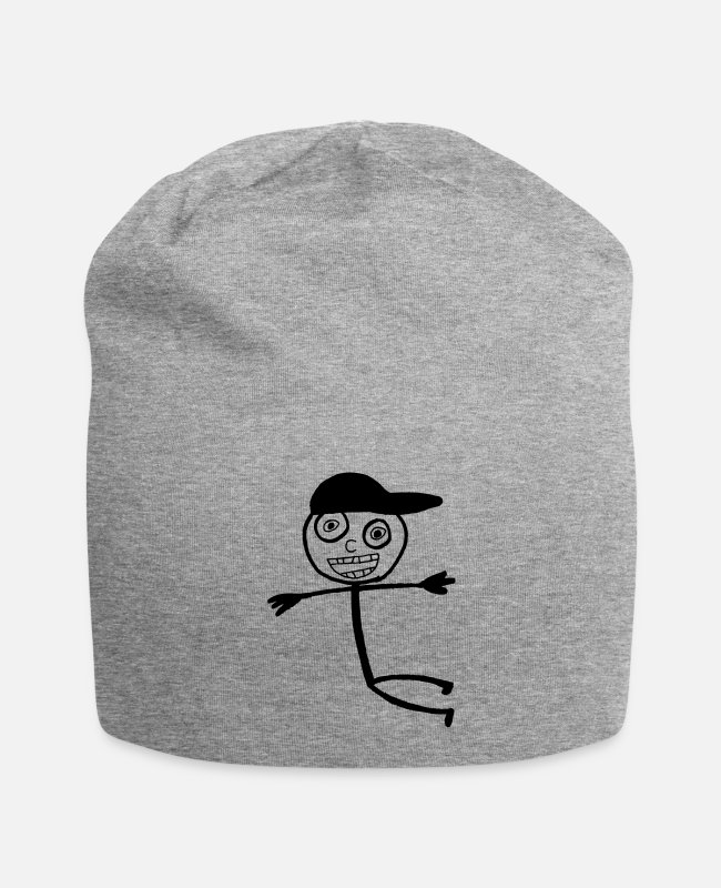 Kid In A Caps & Hats - Kid In A Cap - Beanie heather grey