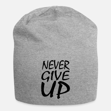 Black Lives Matter NEVER GIVE UP - Beanie