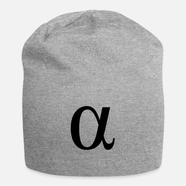 Greek Letters alpha greek letter - Beanie