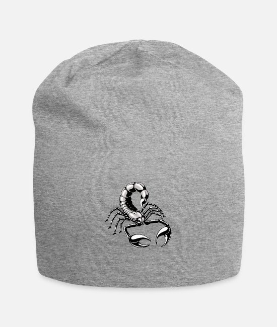 Scorpiones Caps & Hats - Scorpion - silver - grey - Beanie heather grey
