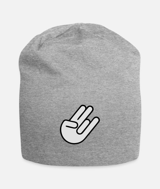 Shocker Hand Caps & Hats - SHOCKER HAND - Beanie heather grey