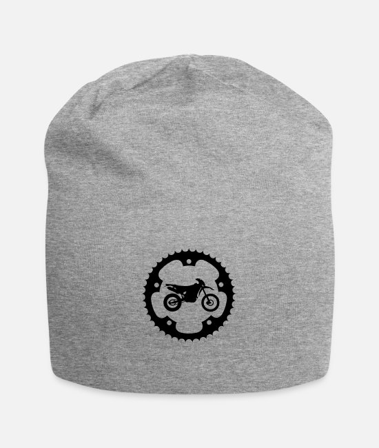 Motorcycle Caps & Hats - Chainring Enduro - Beanie heather grey