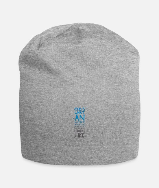 Operating Department Practice Caps & Hats - Awesome ODP 3 - Beanie heather grey