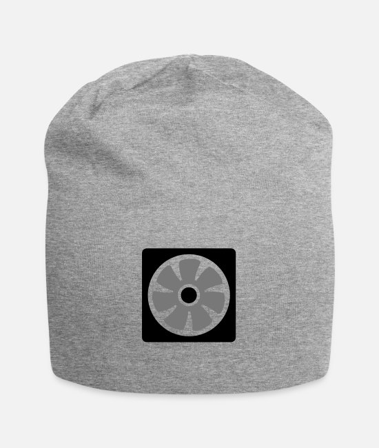 Laptop Caps & Hats - fan - Beanie heather grey