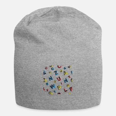 Cards Colorful abstract geometric background - Beanie