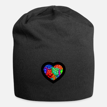 I Heart Happy Colour Happy World - Beanie