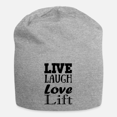 Live,laugh,love, lift - Beanie