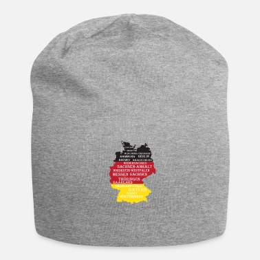 Federal States Federal States Germany flag borders - Beanie