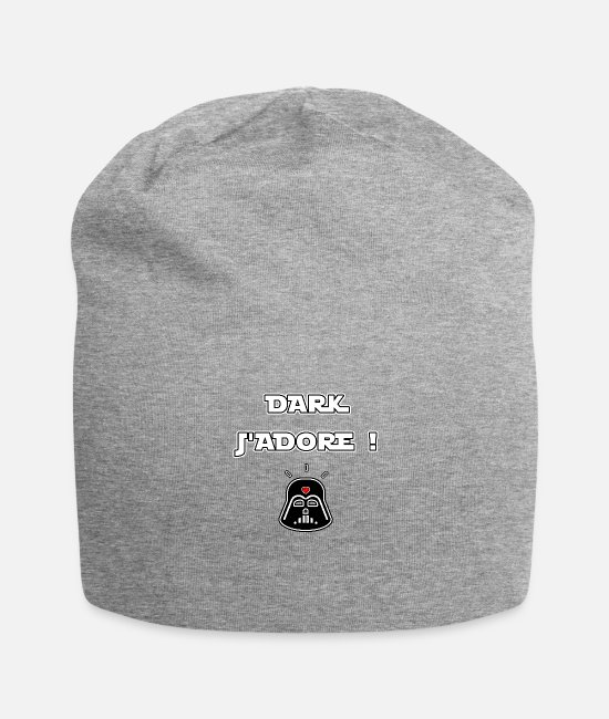 Chewbacca Caps & Hats - DARK I LOVE! - WORDS OF WORDS - FRANCOIS VILLE - Beanie heather grey