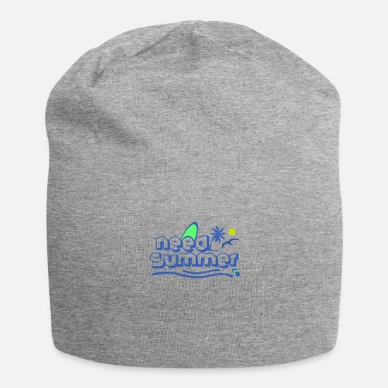 Vacation Country Caps & Hats - Summer vacation - Beanie heather grey