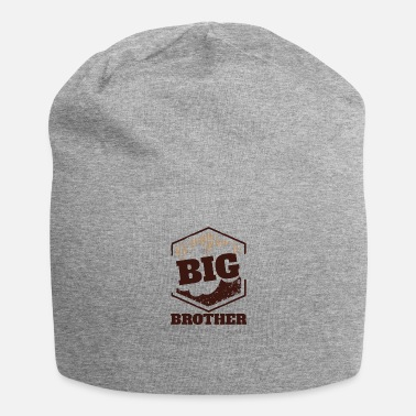 Big Big Brother Big Sister Big Brother Big Badge - Beanie