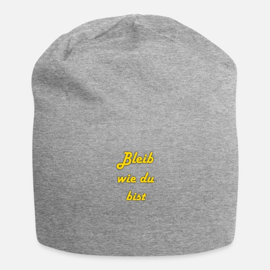 Lettering Caps & Hats - lettering - Beanie heather grey