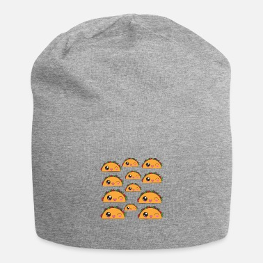 Poster Wanna Taco About It Taco Pattern Taco Print Tacos - Beanie