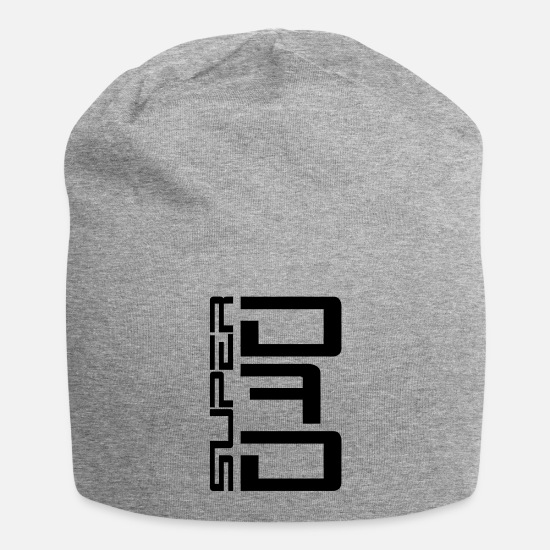 Birthday Caps & Hats - Super Dad - Beanie heather grey