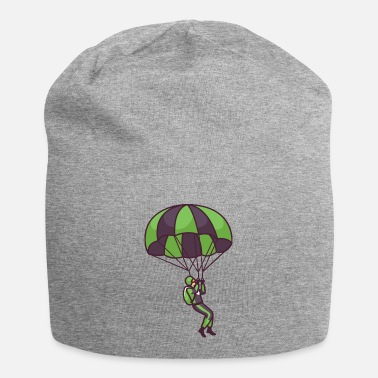 Grey Parachute Flying - Beanie
