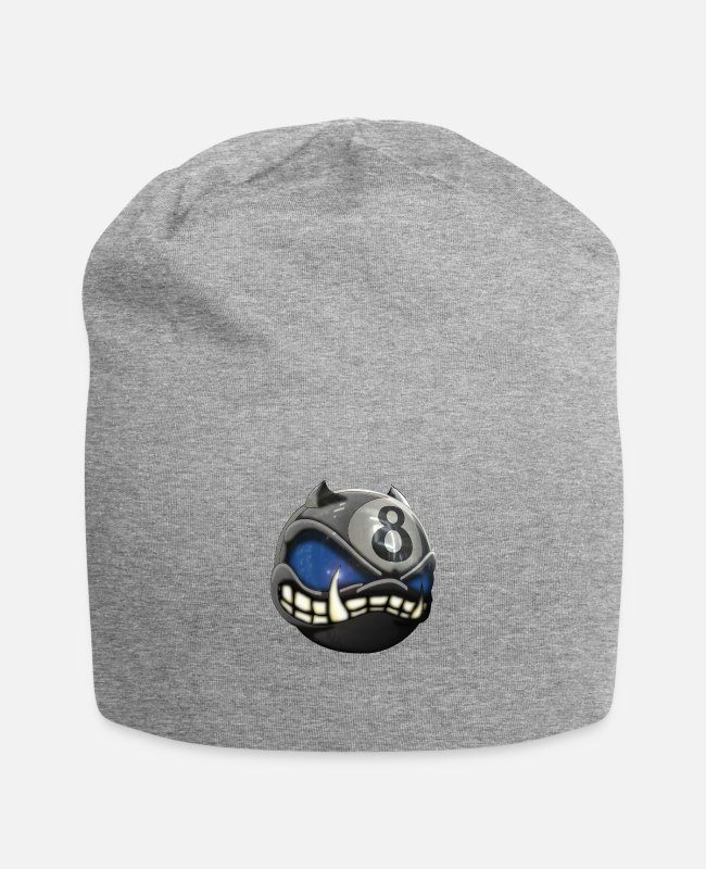 Mad Caps & Hats - crazy death by dk 003 - Beanie heather grey